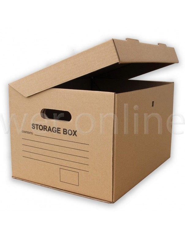 "15 x 12 x 9"" (390 x 304 x 238mm) - A4 Archive Boxes"