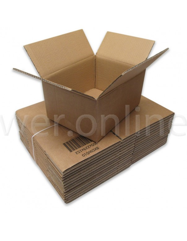 "12 x 9 x 4"" (305 x 229 x 102mm) - Double Wall Cardboard Boxes"