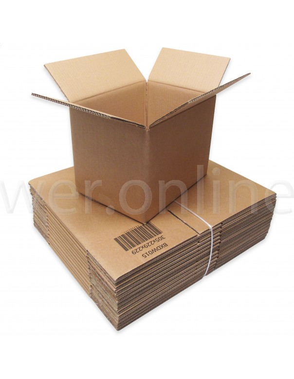 "12 x 9 x 9"" (305 x 229 x 229mm) - Double Wall Cardboard Boxes"