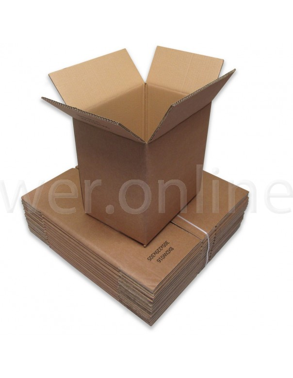 "12 x 9 x 12"" (305 x 229 x 305mm)  - Double Wall Cardboard Boxes"