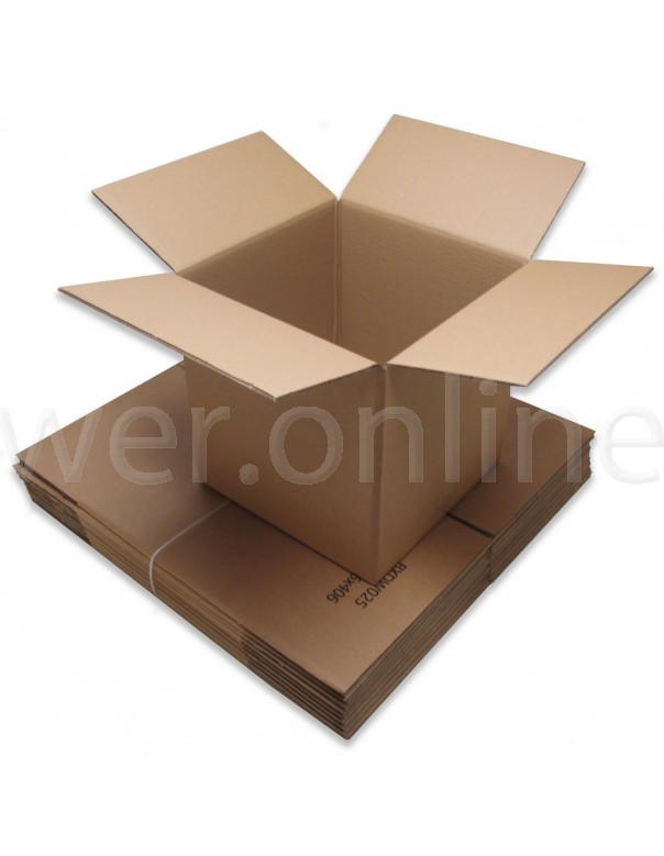 "12 x 12 x 12"" (305 x 305 x 305mm) - Double Wall Cardboard Boxes"