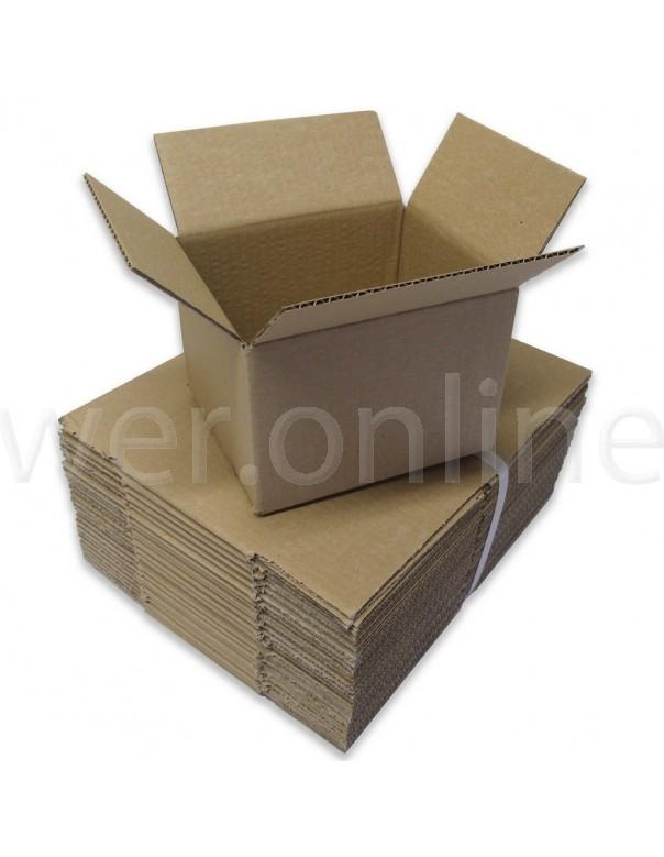 "6 x 5 x 4""  (152 x 127 x 101mm) - Single Wall Cardboard Boxes"