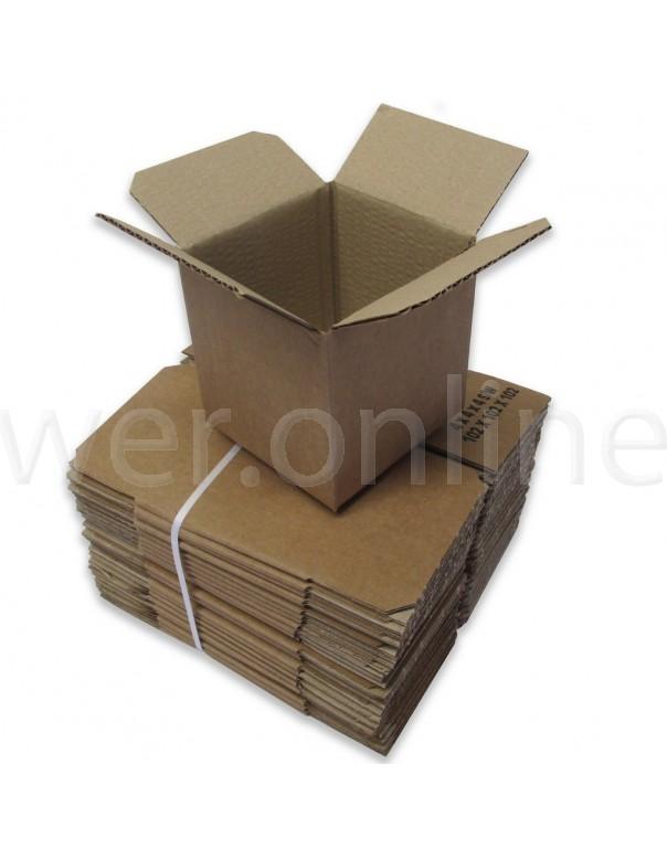 "4 x 4 x 4"" (102 x 102 x 102mm) - Single Wall Cardboard Boxes"