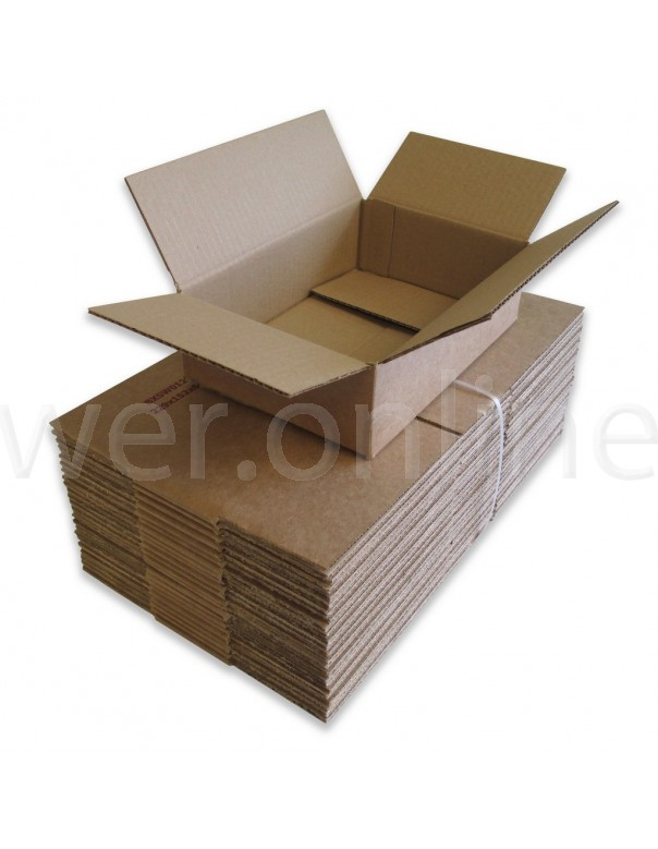 "9 x 6 x 2½"" (229 x 152 x 64mm) - Single Wall Cardboard Boxes"