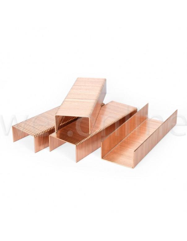 Copper Carton Staples for Manual Stapler - 32mm x 15mm