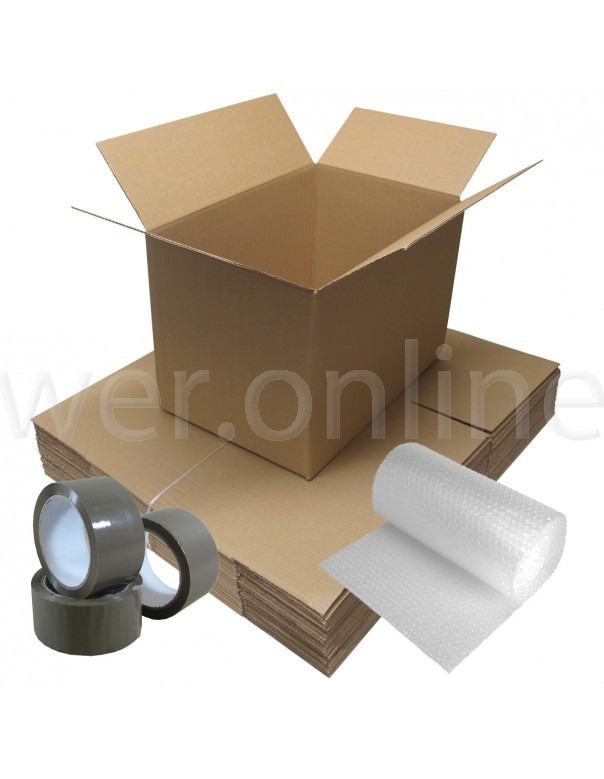 Student Removal Pack - ~Single Wall Boxes - 2 Bedroom Move