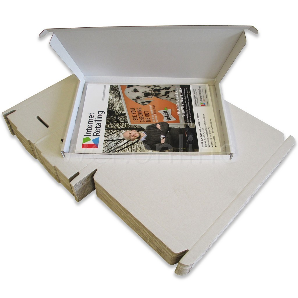 PIP Cardboard Postal Mailing Boxes Royal Mail Large Letter DL 217 x 108 x 20mm