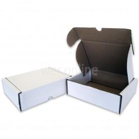 """6 x 6 x 2½"""" (150 x 150 x 60mm) - White Die-cut Postal Boxes"""