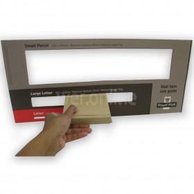 101 x 101 x 20mm - Mini Large Letter - Royal Mail Sized PIP Postal Boxes