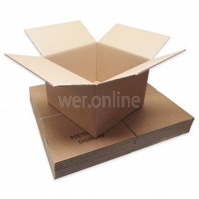 "18 x 18 x 12"" (457 x 457 x 305mm)  - Double Wall Cardboard Boxes"