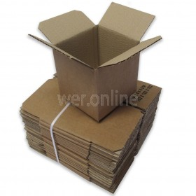 "4 x 4 x 4"" (102 x 102 x 102mm) - Single Wall Cardboard Boxes"