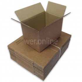 "9 x 6 x 6"" (229 x 152 x 152mm) - Single Wall Cardboard Boxes"