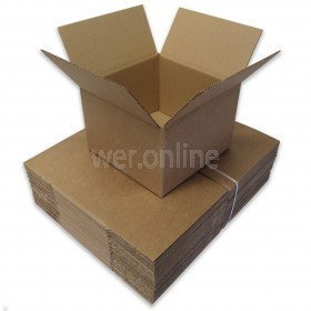 "9 x 9 x 6"" (229 x 229 x 152mm) - Single Wall Boxes"