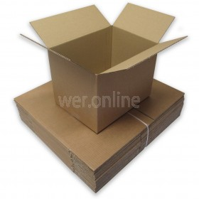 "12 x 9 x 9"" (305 x 229 x 229mm) - Single Wall Boxes"