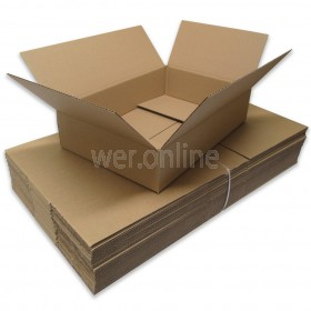 "18 x 12 x 4"" (457 x 305 x 102mm) - Single Wall Boxes"