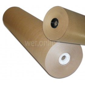 500mm x 225M Pure MG Kraft Rolls - Ribbed Pure Kraft Roll