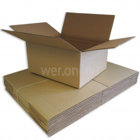 "18 x 18 x 9"" (457 x 457 x 229mm) - Double Wall Cardboard Boxes"
