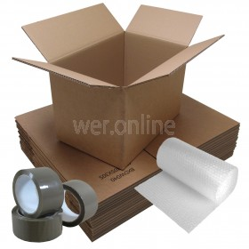 Student Removal Pack - Double Wall Boxes - 1 Bedroom Move
