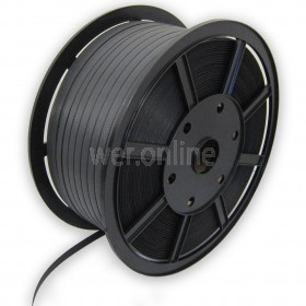 Medium Duty Polypropylene Strapping - 12mm x 1500M Black