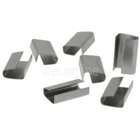 Strapping Galvanised Semi Open Seals - 12mm x 32mm