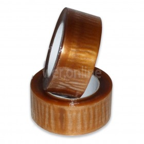 48mm x 132M Clear Parcel Tape - Solvent Adhesive