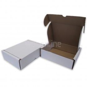 "7 x 5½ x 2"" (170 x 140 x 55mm) - White Die-cut Postal Boxes"