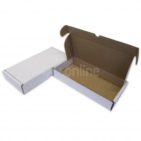 "12 x 6 x 2"" (305 x 152 x 50mm) - White Die-cut Postal Boxes"