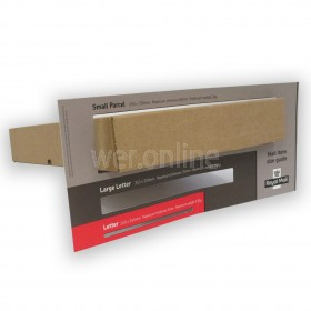 449 x 349 x 79mm Small Parcel  - Royal Mail Sized PIP Postal Boxes