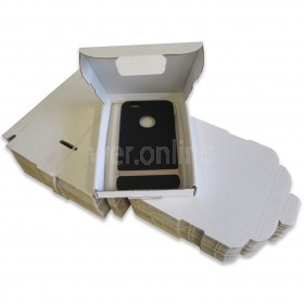 112 x 163 x 20mm - White C6 Large Letter - Royal Mail Sized PIP Postal Boxes