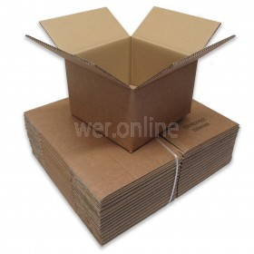 "9 x 9 x 6"" (229 x 229 x 152mm)  - Double Wall Cardboard Boxes"