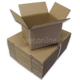 "6 x 5 x 4""  (152 x 127 x 101mm) - Single Wall Cardboard Boxes"