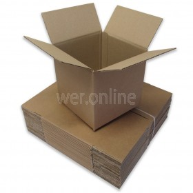 "8 x 8 x 8"" (203 x 203 x 203mm) - Single Wall Cardboard Boxes"
