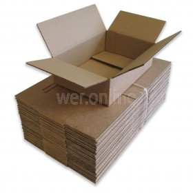 "9 x 6 x 2½"" (229 x 152 x 64mm) - Single Wall Cardboard Boxes"