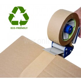 48MM X 50M Eco-Friendly Brown Kraft Paper Tape STRONG Adhesive