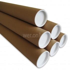 A2 Cardboard Postal Tubes - 450MM X 50.8MM X 1.5MM