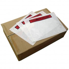 A7 Document Enclosed Wallets - Printed 95mm x 110mm