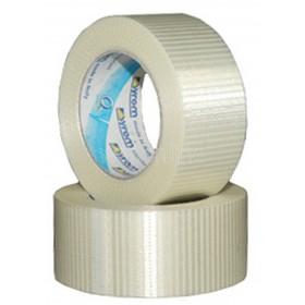 50mm x 50M Crossweave Tape - Solvent/Acrylic Adhesive