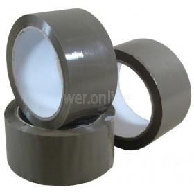48mm x 66M Buff Premium Case Sealing Tape - Vinyl Solvent Adhesive