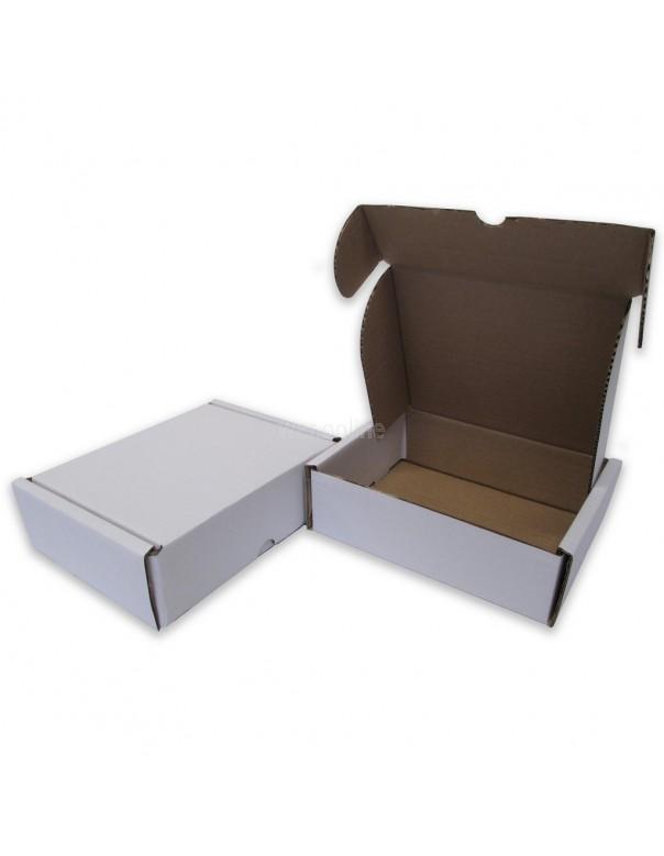 """7 x 5½ x 2"""" (170 x 140 x 55mm) - White Die-cut Postal Boxes"""