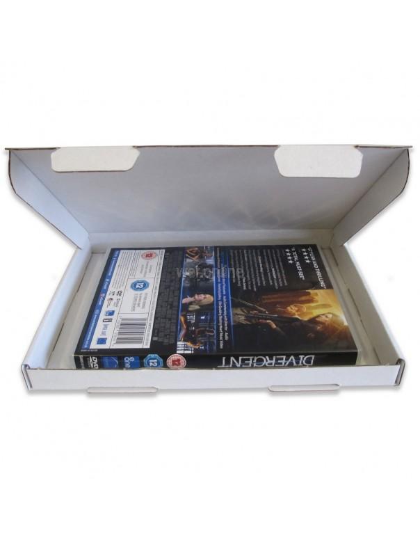 218 x 159 x 20mm - White C5 Large Letter - Royal Mail Sized PIP Postal Boxes