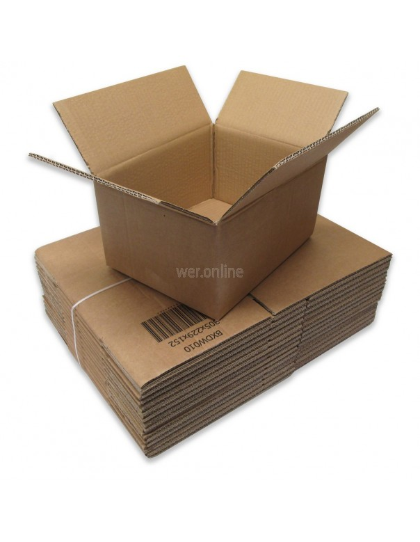 "12 x 9 x 6"" (305 x 229 x 152mm) - Double Wall Cardboard Boxes"