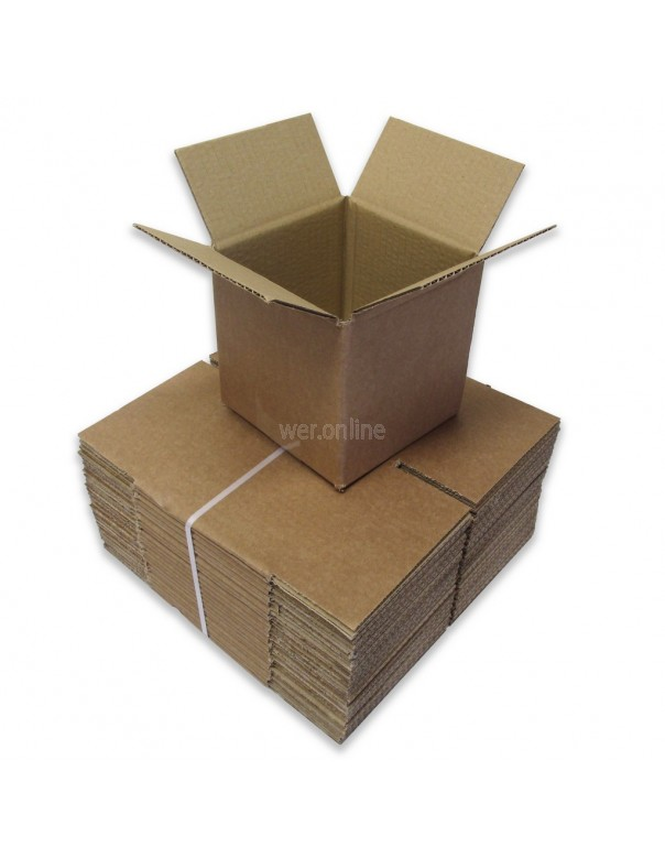 "5 x 5 x 5"" (127 x 127 x 127mm) - Single Wall Cardboard Boxes"