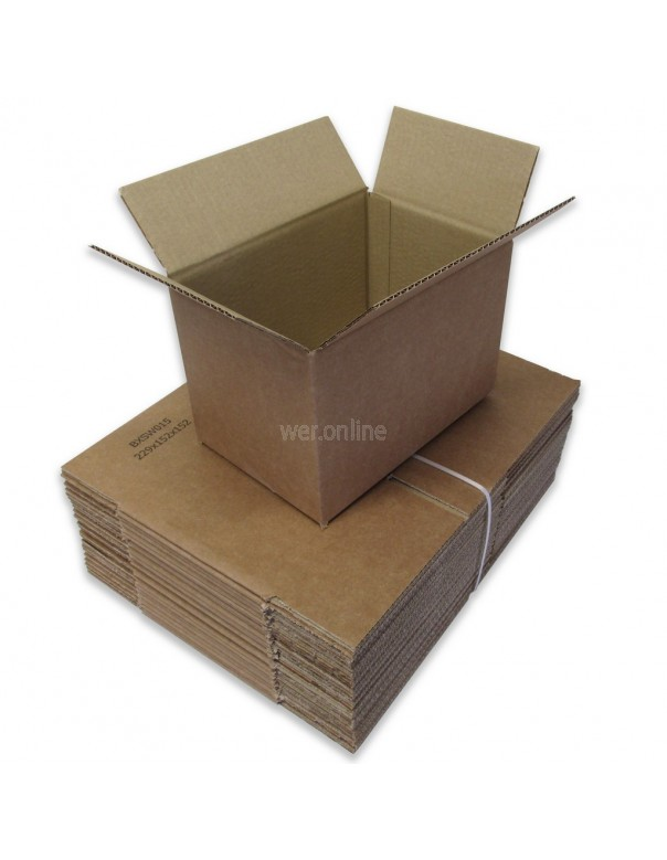 "9 x 6 x 6"" (229 x 152 x 152mm) - Single Wall Cardboard Boxes"