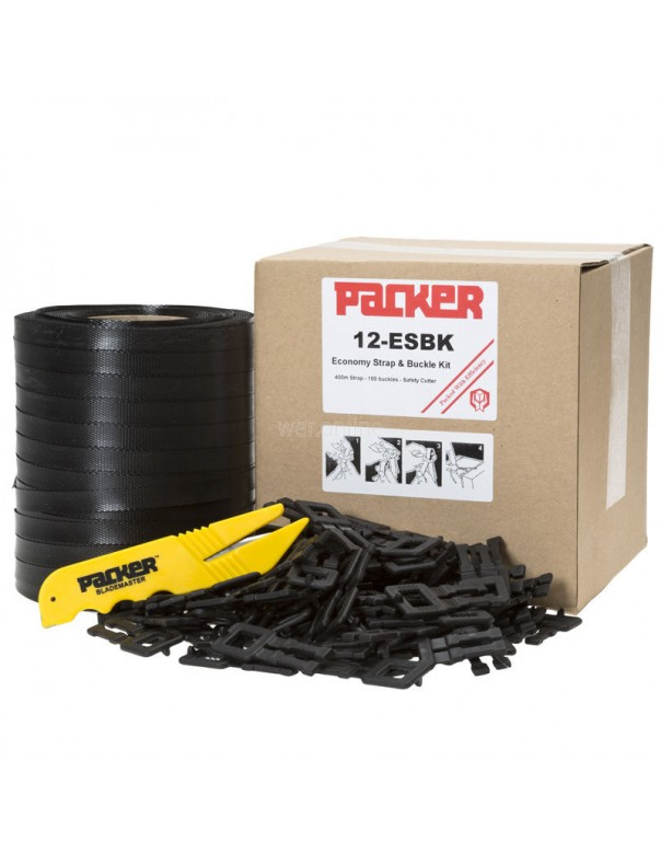 12mm Pallet Strapping & Plastic Buckle Kit